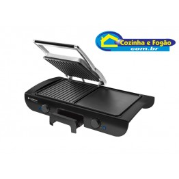 GRILL CADENCE SAPORE 1500W CHAPA DUPLA
